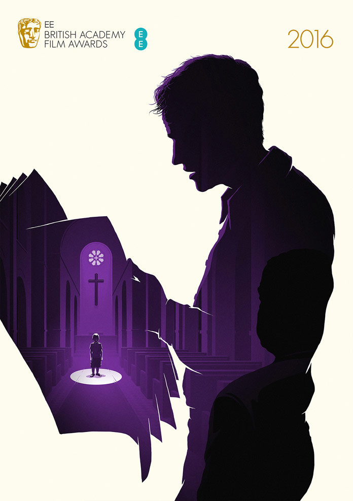 Spotlight – BAFTA 2016 – poster illustration by Levente Szabó for the category Best Film.