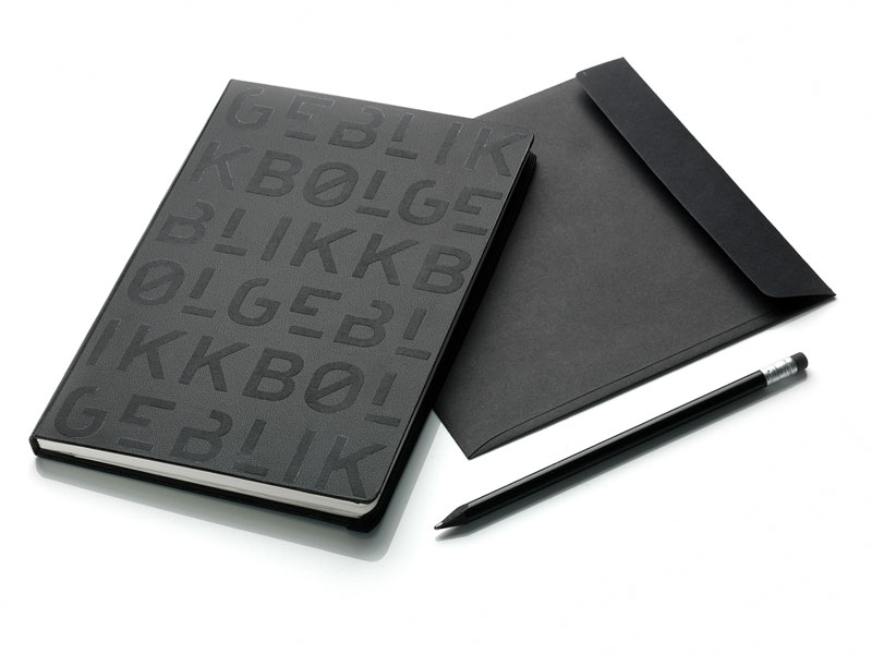 Studio Tank has created a lot of printed matters including these notebooks.