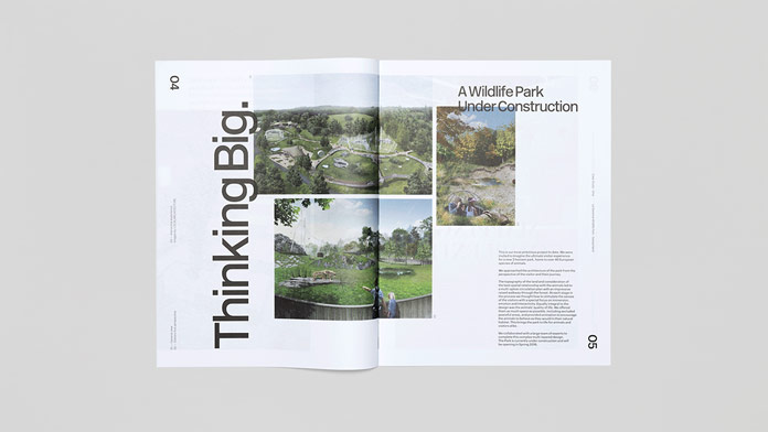 The magazine is produced by international scenographers Curious Space.