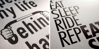 Some close ups of the new letterpress prints by Thomas Yang of 100copies.