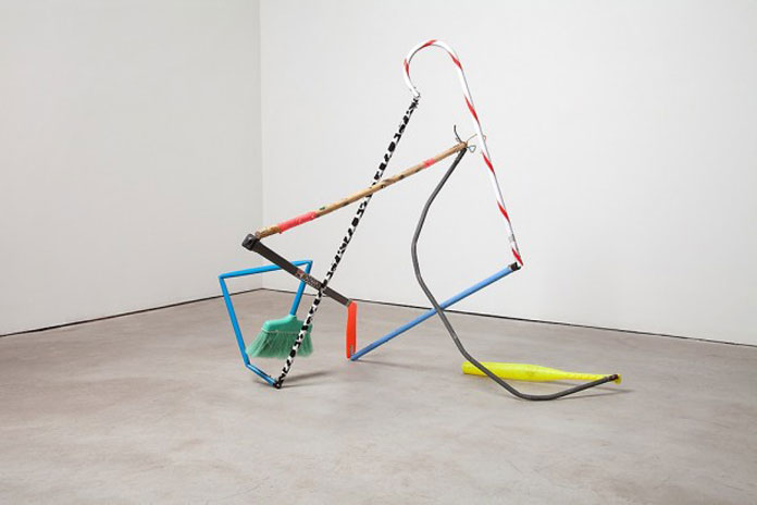 Pick Up Sticks, an installation from 2012.
