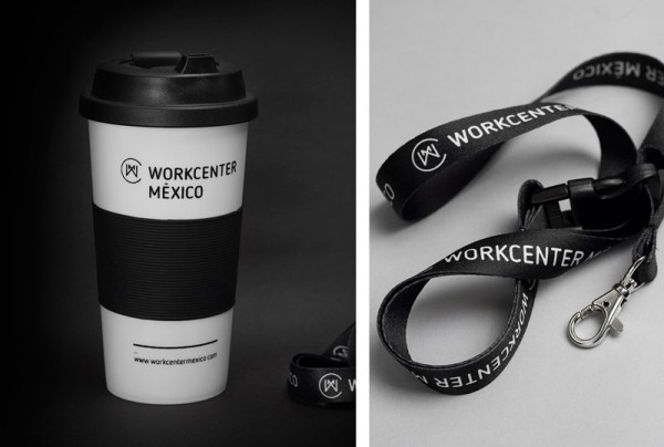 Agency Bienal has created a lot of promotional items including these coffee mugs and keychains.