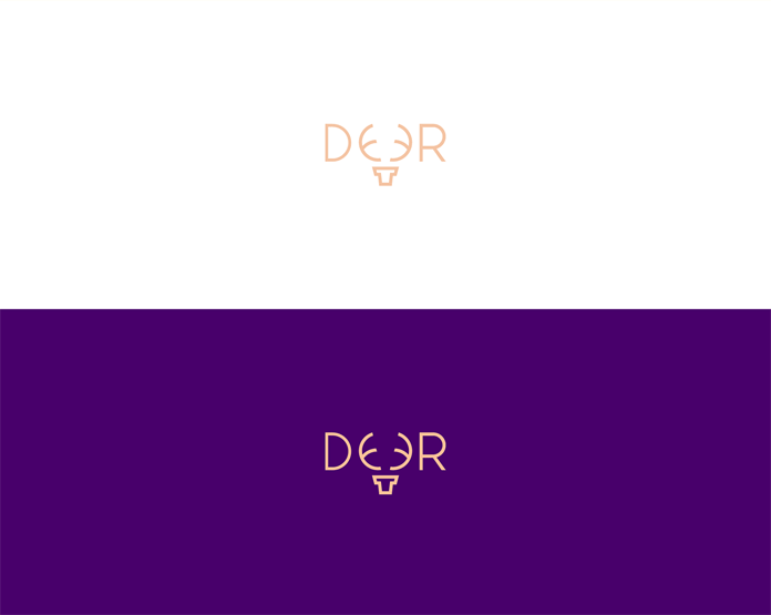The deer graphic from a series of animal wordmarks.