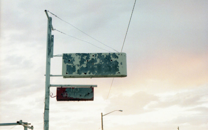 'You Are Here' is a photo series of post traumatic disorder somewhere in America.