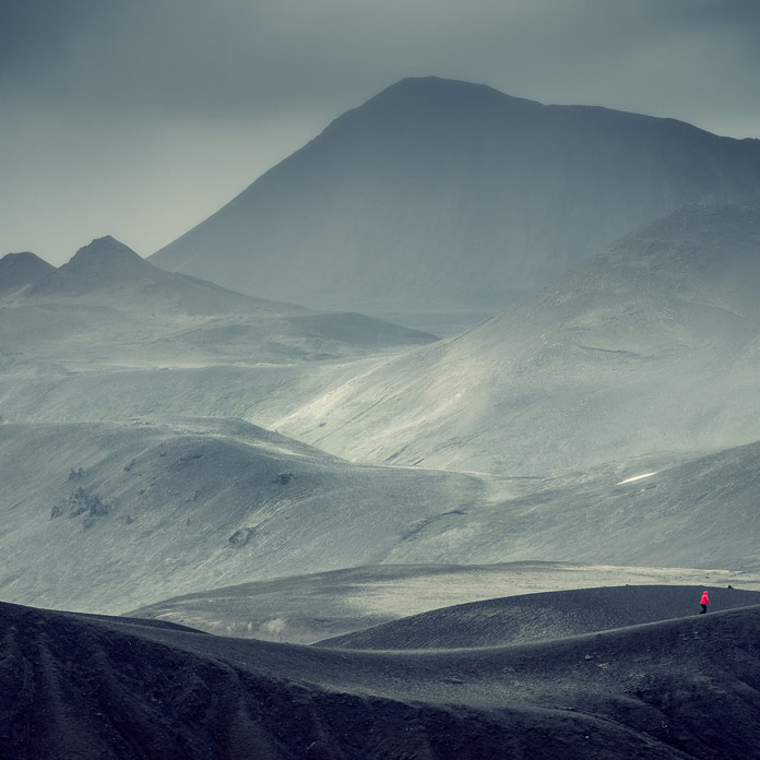 Andreas Levers has captured stunning views of mountains and cloudy skies.