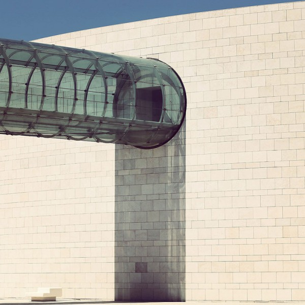 Champalimaud Center for the Unknown in Lisbon, Portugal by architect Charles Correa Associates.