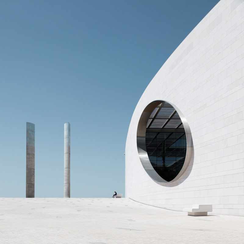 Champalimaud Center in Lisbon, Portugal, captured in 2015.