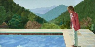 David Hockney - Portrait of an Artist (Pool with Two Figures) 1971.