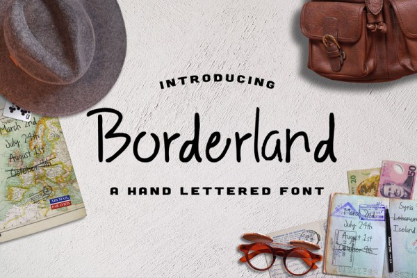 Let's introduce you to Borderland, a fine handwritten style.