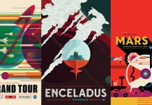NASA Space Travel Posters by Invisible Creature.