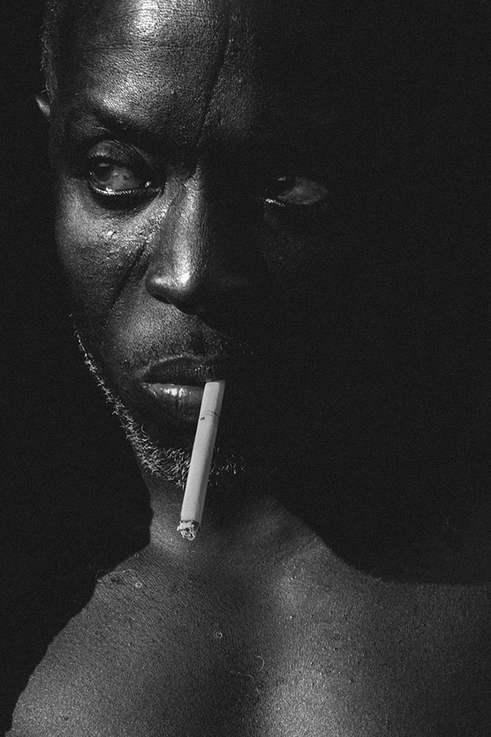 Portrait of actor Michael K. Williams.