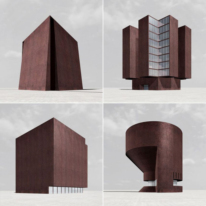 Silent Architecture was a project by mastermind Simon Ungers in collaboration with Thorsten Roettger and Sven Roettger.