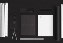 A modern and minimalist brand identity designed by agency Anti for Dark Architects.