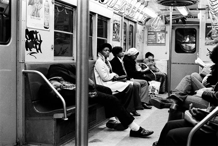 Old Subway impressions in black and white.