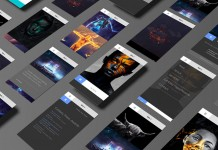 Responsive modular based web design and development by studio Sabbath for digital and mixed media artist Ian Vicknair.