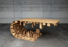 The Wave City Coffee Table Stelios Mousarris.