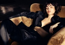 Another photo from the shooting with Steffy Argelich for The Telegraph.