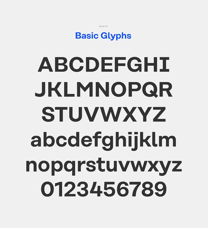 Basic Glyphs