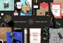 Brandminute Mockups, an awesome set of beautiful branding templates from GraphicBurger.