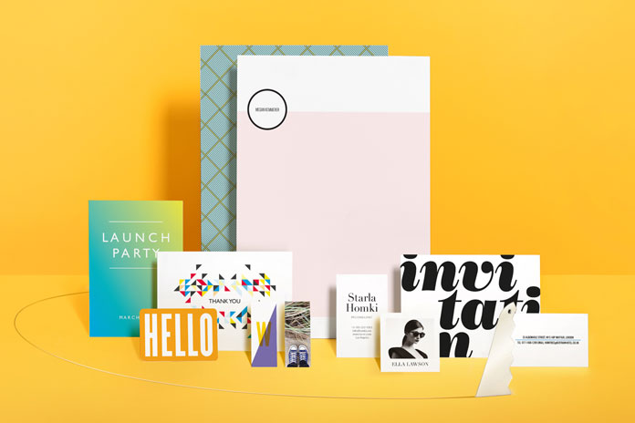 Expertly crafted stationery and promotional materials from online print shop, MOO.