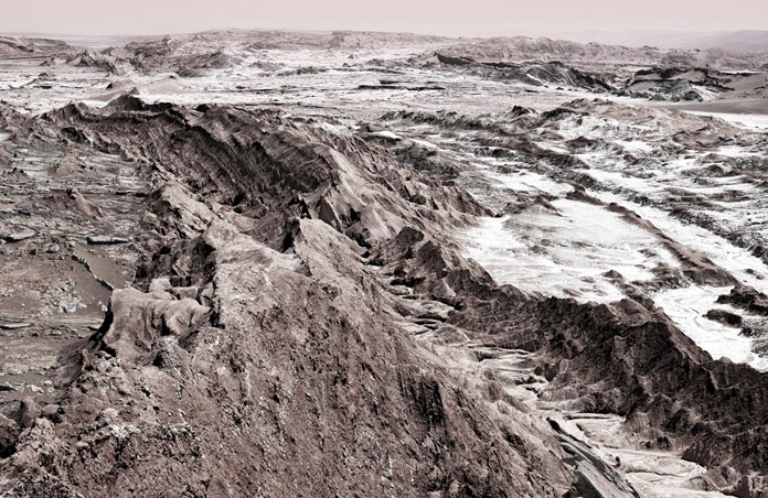 Interplanetary Landscape - outer space landscape.