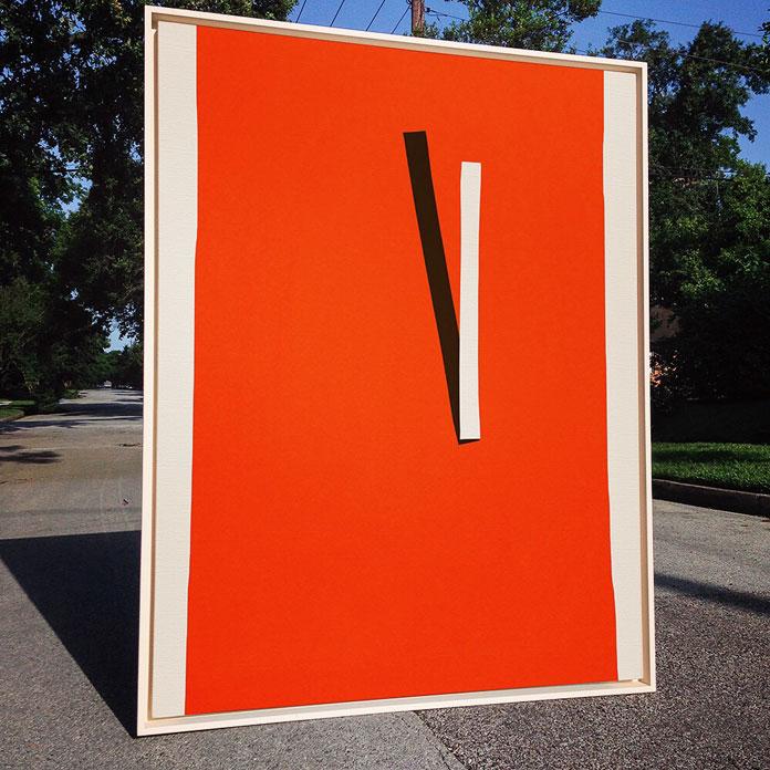 Minimalism in art by Houston, Texas based painter Paul Kremer.