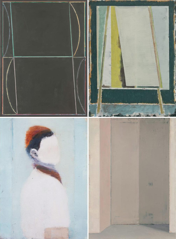 Paintings by Berlin based artist Pius Fox.