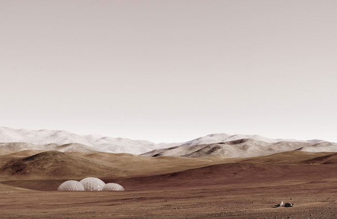 Sands of Mars, this piece is part of an image collection shown at Benrubi Gallery.