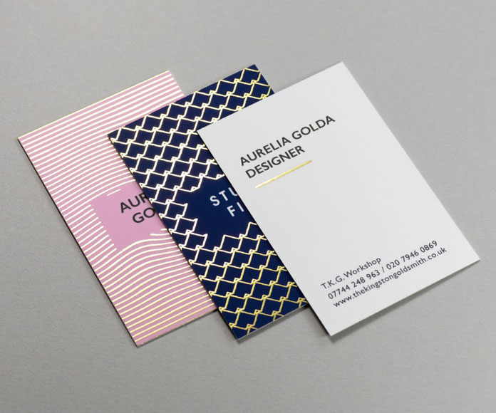 Some examples of elegant Gold Foil finishes.