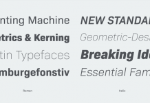 Bio Sans font family from Flat-it.