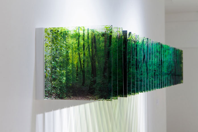 Layered Drawings by Japanese artist Nobuhiro Nakanishi.