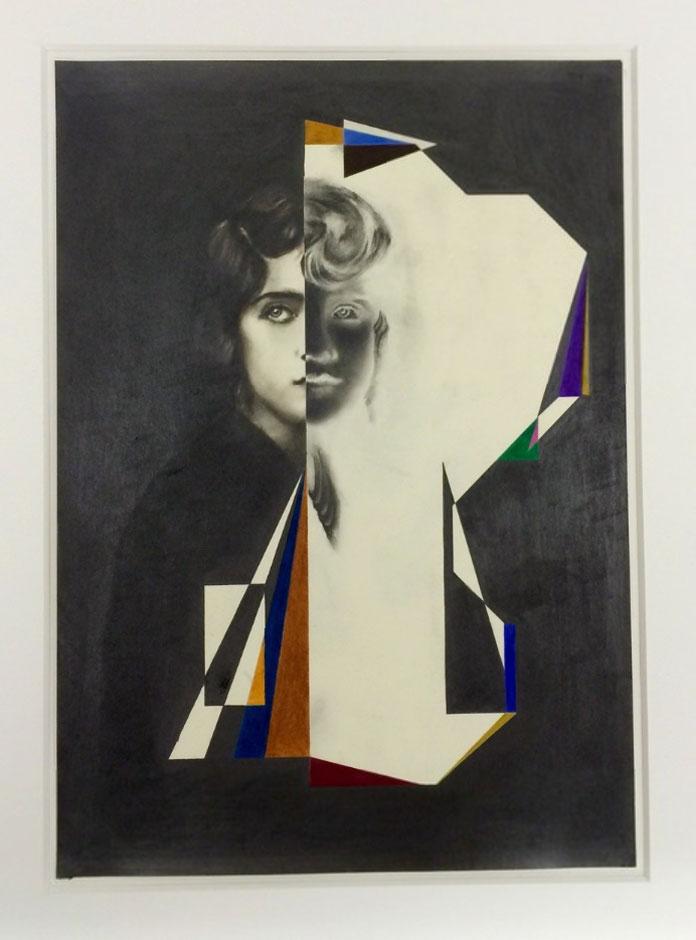 Matthias Bitzer – pencil on paper artwork from 2016.