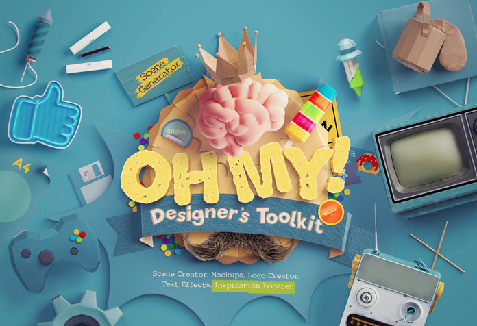 Oh My! Designer's Toolkit Creator for Adobe Photoshop.