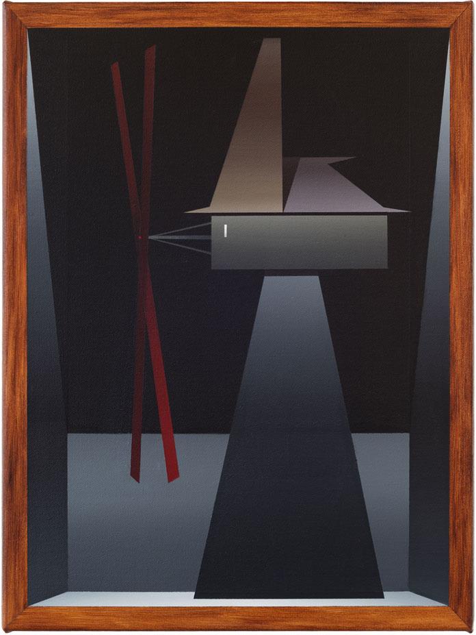 Painting by German artist Titus Schade.