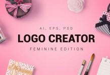 The Feminine Logo Creator from Design District.