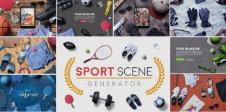 The Sport Scene Generator by Simon Henke of h3design.