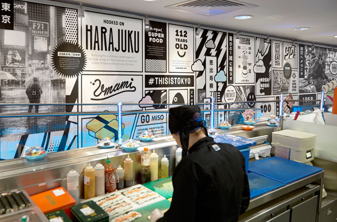 YO! Sushi brand refresh by & SMITH.