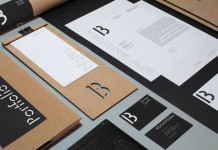 A uniform designed stationery set.
