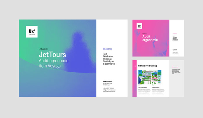 A colorful and unique brand identity.
