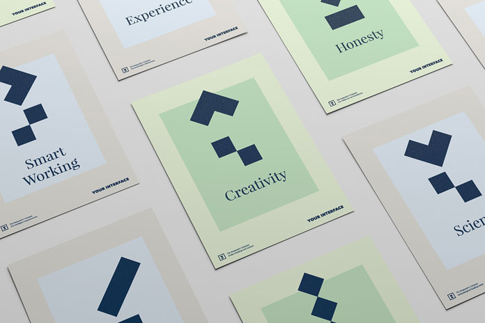 Polish freelance graphic designer Michał Markiewicz has created a set of printed collateral for the agency.