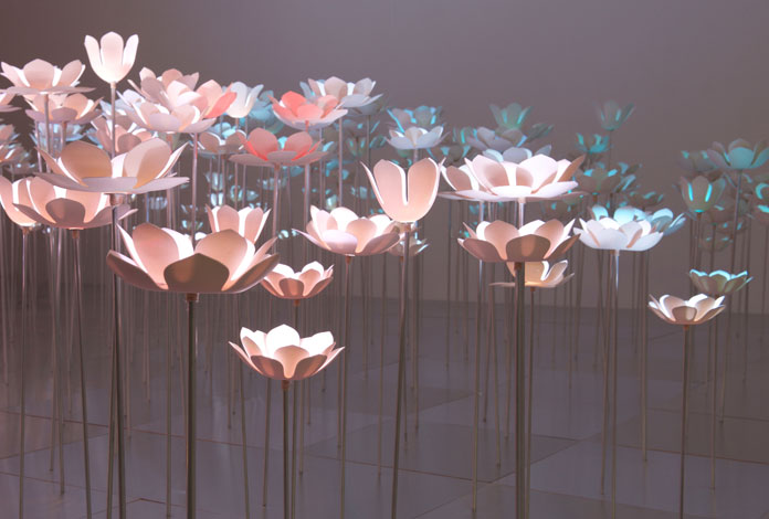 Ataraxia, an installation by artist and sculptor May Von Krogh.