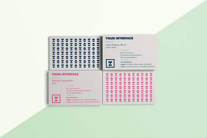 Your Interface – examples of business cards.