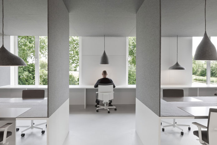 A unique office space concept designed by i29 Interior Architects.