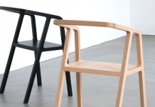 A-Chair, a minimalist and formal chair design by Austrian product designer Thomas Feichtner.