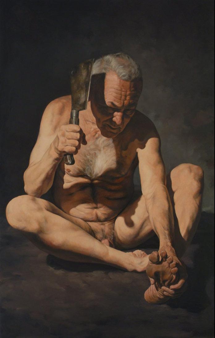 Blinded, an earlier artwork by Erik Thor Sandberg from 2006.