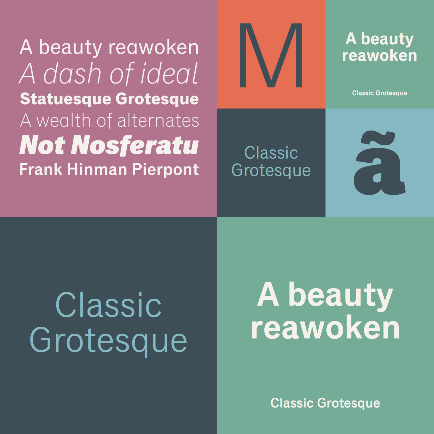 Classic Grotesque Font Family From Monotype