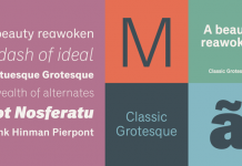 Classic Grotesque font family from Monotype.