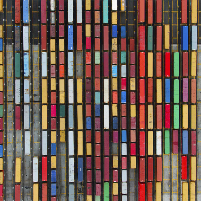 Colored Containers, 2011 - Industry series.