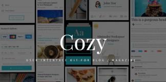 Cozy UI Kit.