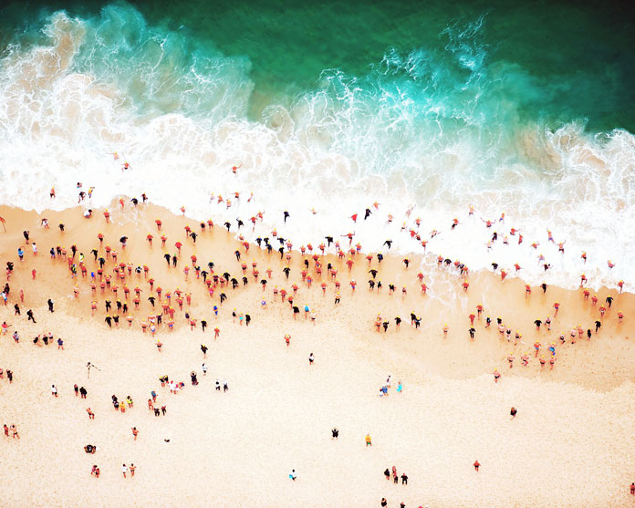 Entry, 2011 - Shore aerial photography by Tommy Clarke.